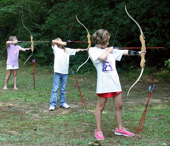 archery-children