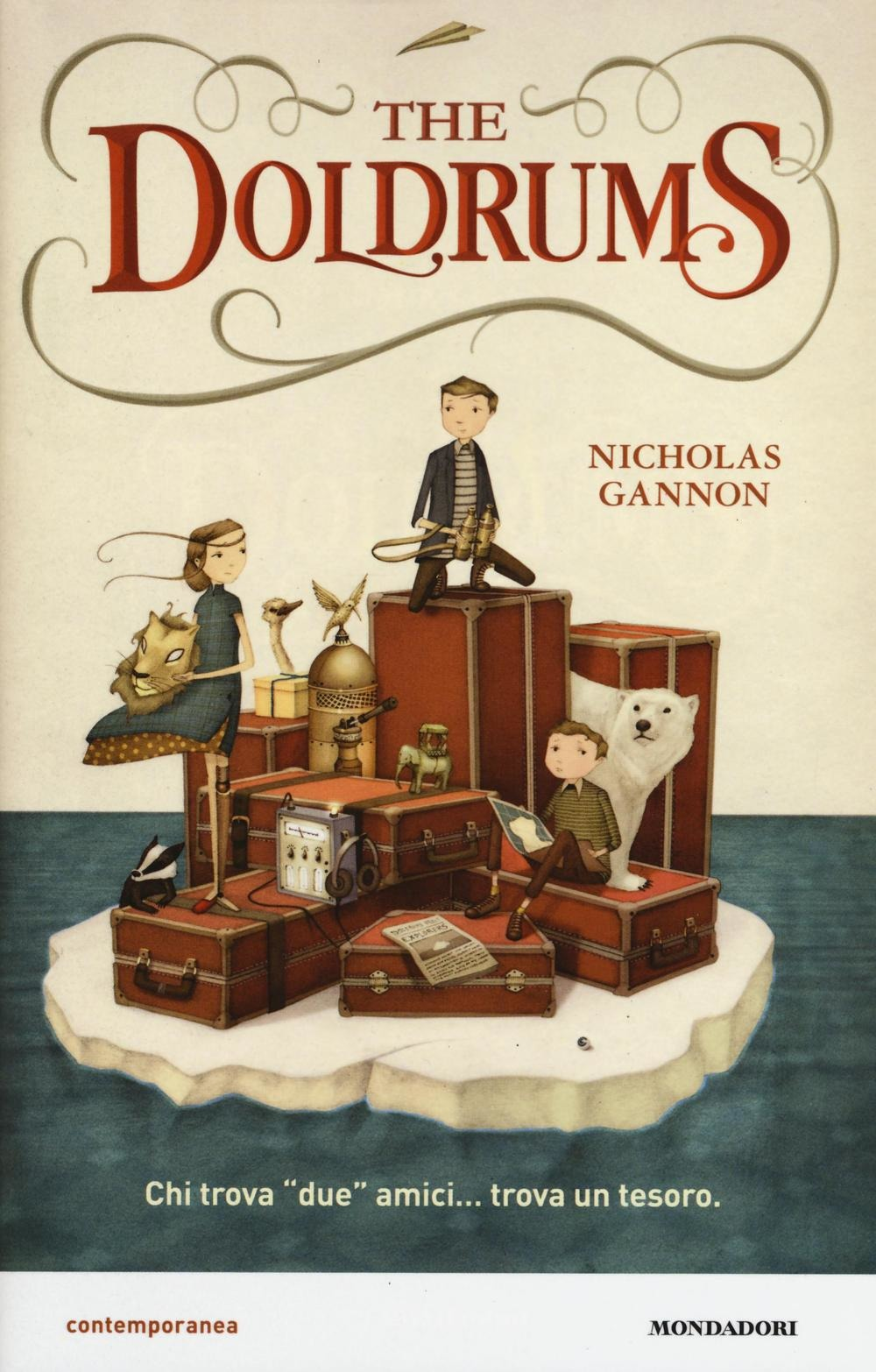 Club del libro 10/14 anni: The Doldrums.